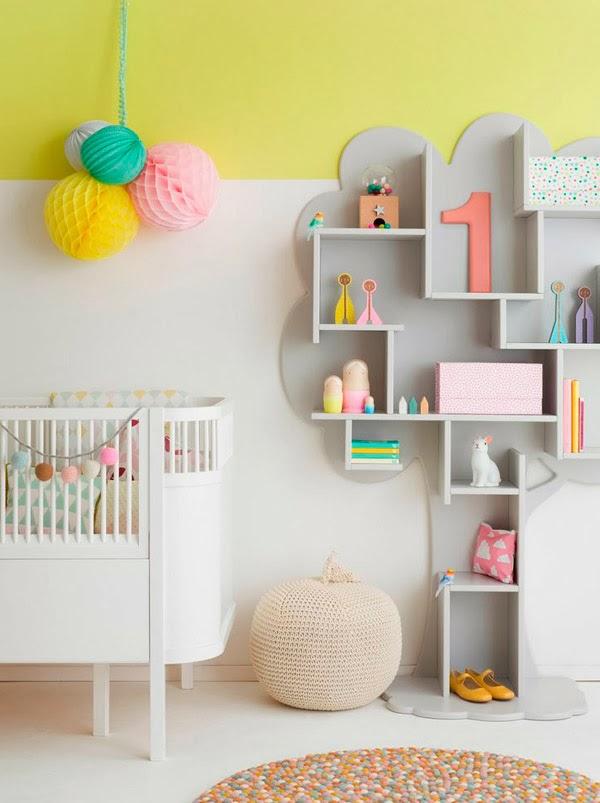 Καταπληκτικές ιδέες ντεκόρ για παιδικά υπνοδωμάτια1
