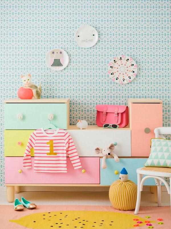 Καταπληκτικές ιδέες ντεκόρ για παιδικά υπνοδωμάτια2