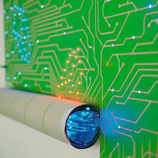 ιδέες εσωτερικής διακόσμησης για να φωτίσετε τα δωμάτια σας με LED Φωτιστικά8
