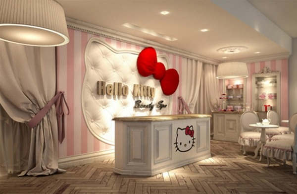 Hello Kitty Σχέδια παιδικού δωματίου