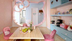 Hello Kitty Σχέδια παιδικού δωματίου2