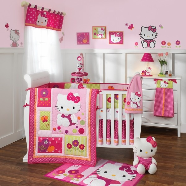 Hello Kitty Σχέδια παιδικού δωματίου3