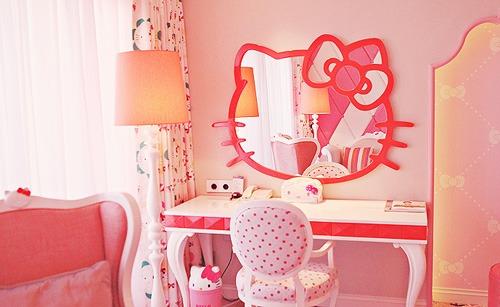Hello Kitty Σχέδια παιδικού δωματίου5