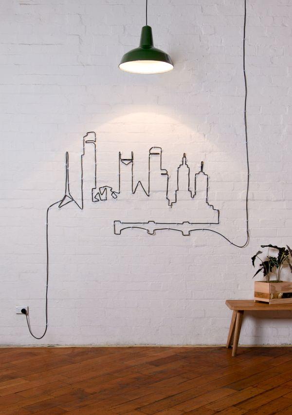 Wall Art με καλώδια