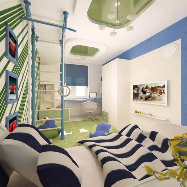 Απίθανα φωτεινά παιδικά δωμάτια14