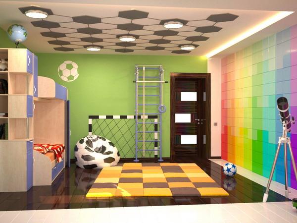 Απίθανα φωτεινά παιδικά δωμάτια16