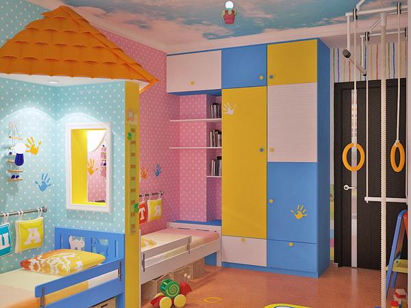 Απίθανα φωτεινά παιδικά δωμάτια19