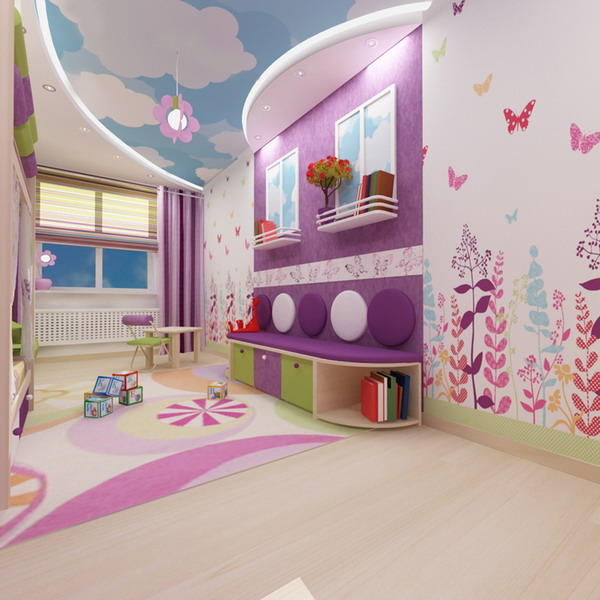 Απίθανα φωτεινά παιδικά δωμάτια2