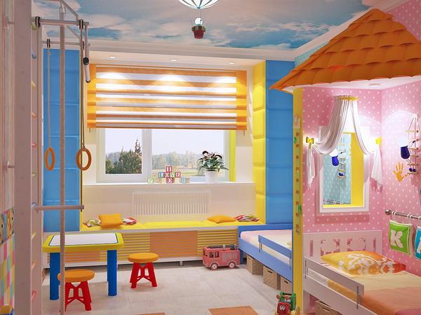 Απίθανα φωτεινά παιδικά δωμάτια20