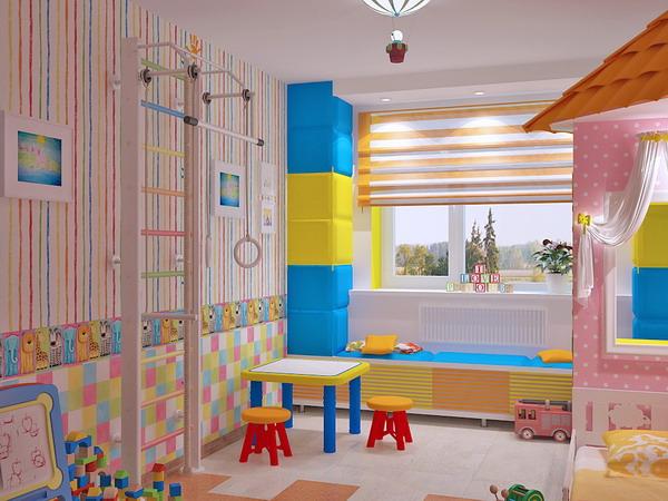 Απίθανα φωτεινά παιδικά δωμάτια21