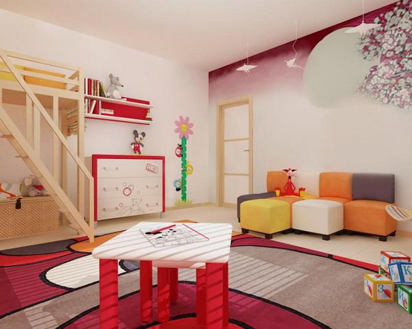 Απίθανα φωτεινά παιδικά δωμάτια24