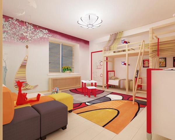 Απίθανα φωτεινά παιδικά δωμάτια25