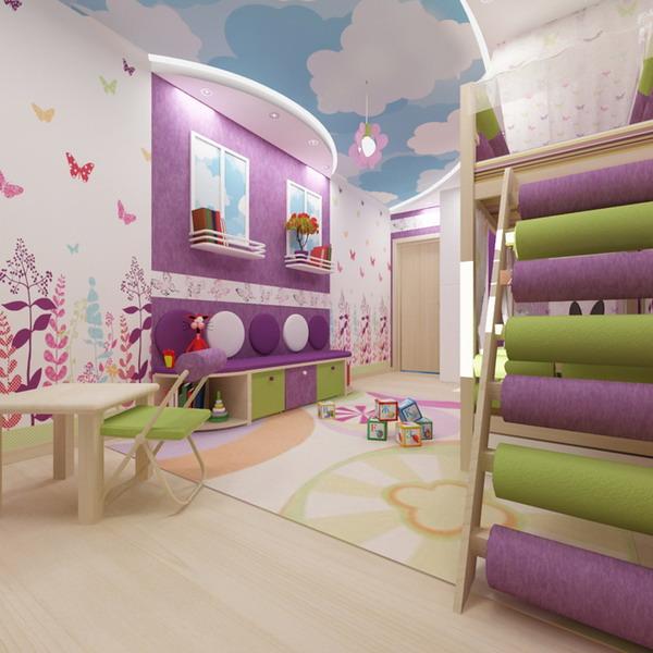 Απίθανα φωτεινά παιδικά δωμάτια4