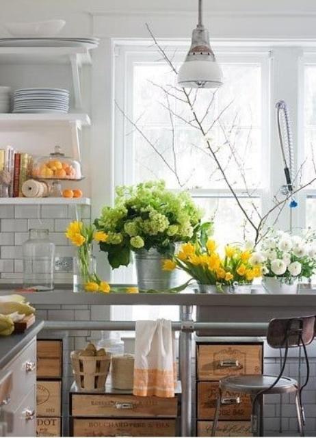 Ιδέες Ανοιξιάτικης διακόσμησης για την Κουζίνα σας15