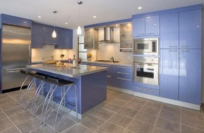 Μπλε χρώμα στην εσωτερική διακόσμηση8