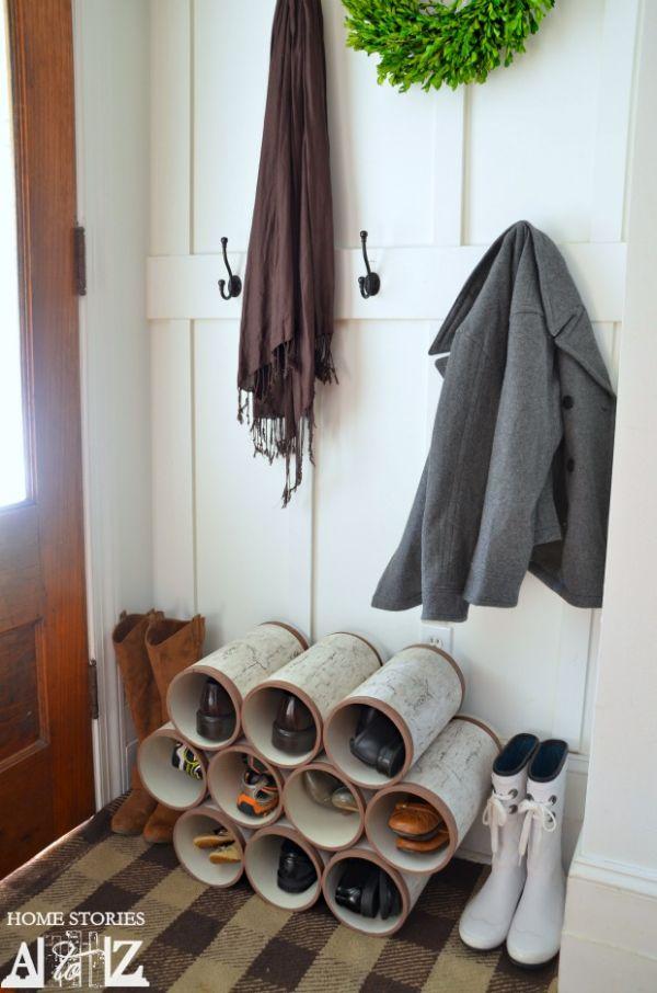 DIY ιδέες για παπουτσοθήκες2