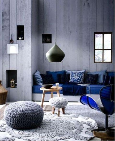 Ιδέες για Διακόσμηση στο Σπίτι  με Λουλακί1
