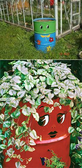 Πολύχρωμες Ιδέες ανακύκλωσης Μεταλλικών βαρελιών14
