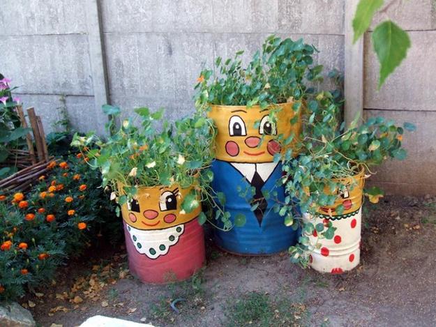 Πολύχρωμες Ιδέες ανακύκλωσης Μεταλλικών βαρελιών3