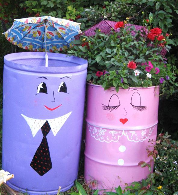 Πολύχρωμες Ιδέες ανακύκλωσης Μεταλλικών βαρελιών7