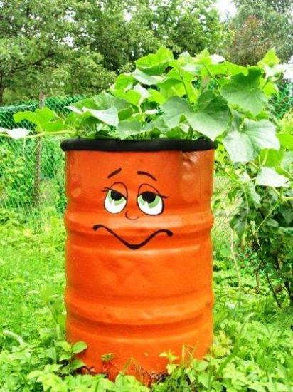 Πολύχρωμες Ιδέες ανακύκλωσης Μεταλλικών βαρελιών9