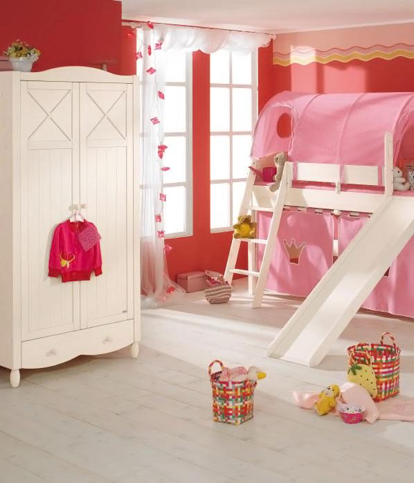 Ροζ Ιδέες για παιδικό Υπνοδωμάτιο4