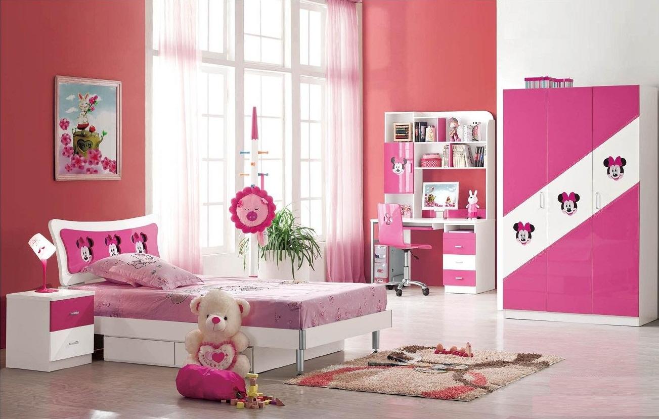 Ροζ Ιδέες για παιδικό Υπνοδωμάτιο9