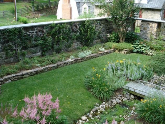 διακόσμηση κήπου με πέτρες15