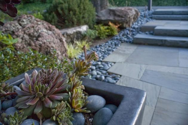διακόσμηση κήπου με πέτρες17