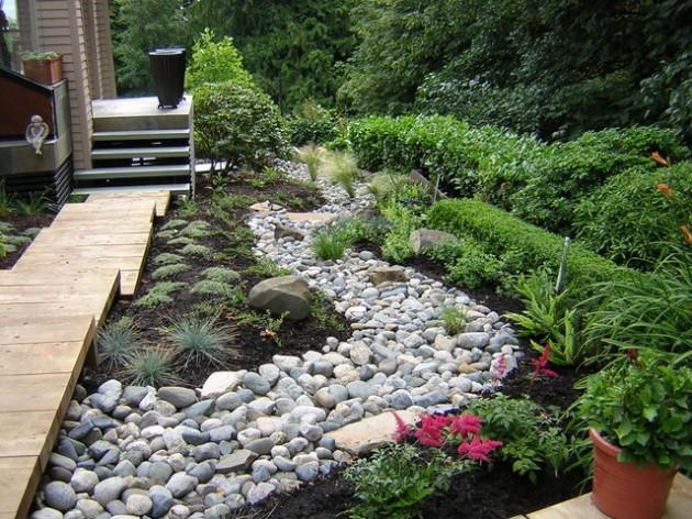 διακόσμηση κήπου με πέτρες4