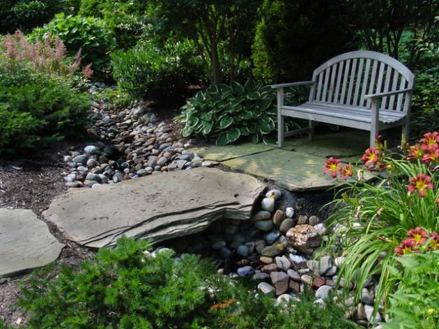 διακόσμηση κήπου με πέτρες9