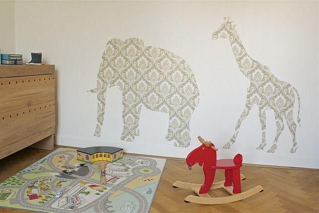 διακόσμηση τοίχου παιδικού δωματίου6