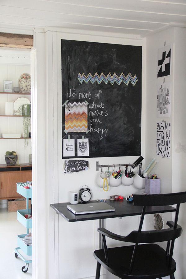 χρώμα μαυροπίνακα για διακόσμηση στο σπίτι11