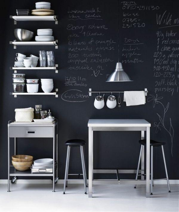 χρώμα μαυροπίνακα για διακόσμηση στο σπίτι25