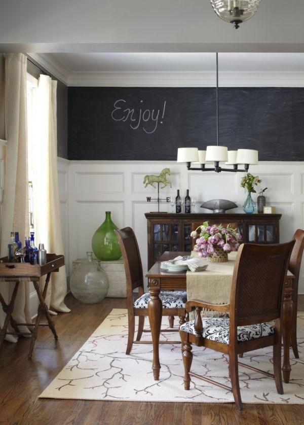 χρώμα μαυροπίνακα για διακόσμηση στο σπίτι30