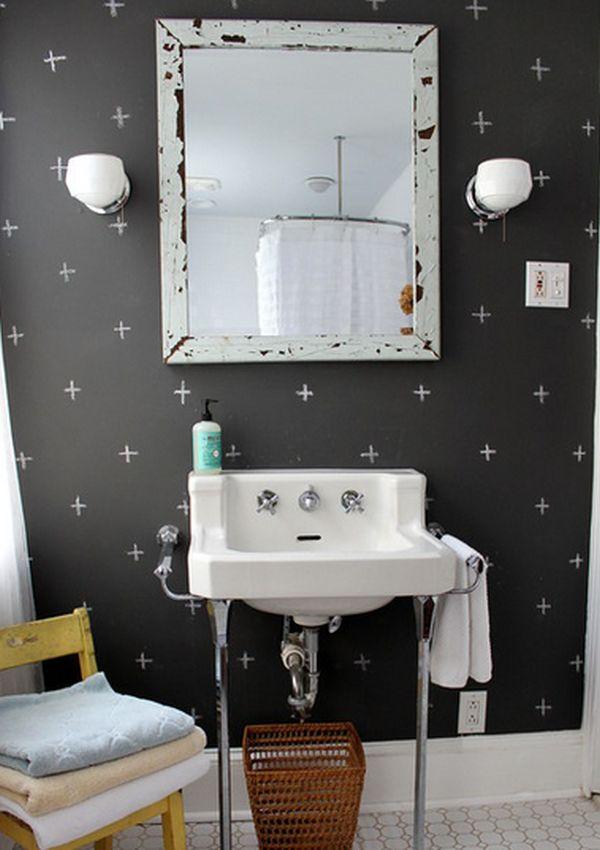 χρώμα μαυροπίνακα για διακόσμηση στο σπίτι33