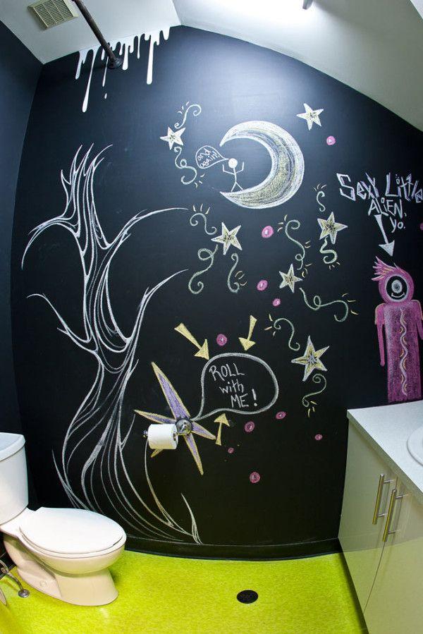 χρώμα μαυροπίνακα για διακόσμηση στο σπίτι37