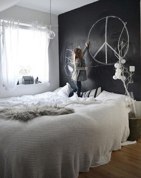 χρώμα μαυροπίνακα για διακόσμηση στο σπίτι46