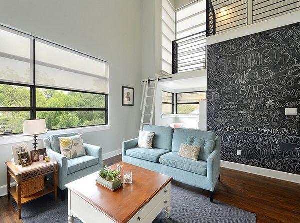χρώμα μαυροπίνακα για διακόσμηση στο σπίτι55