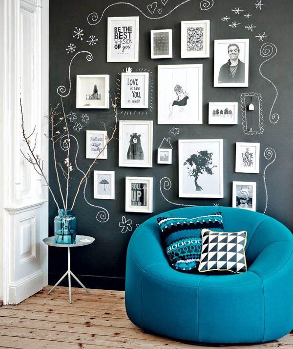χρώμα μαυροπίνακα για διακόσμηση στο σπίτι56