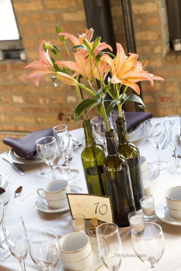 Diy Ιδέες από Μπουκάλια κρασιού15