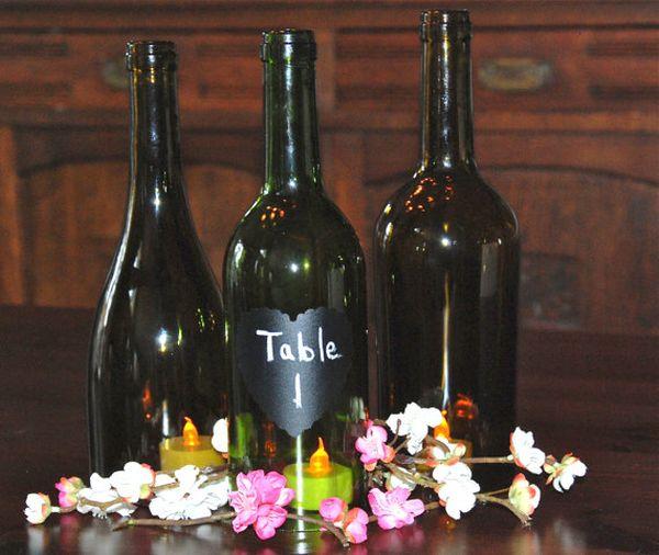 Diy Ιδέες από Μπουκάλια κρασιού5