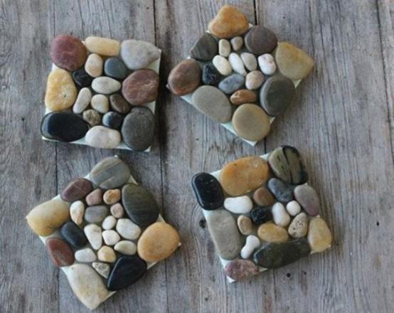 28 - Pebble garden decoration ideas ...