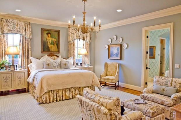 Ιδέες σχεδιασμού για Vintage Εμπνευσμένα Υπνοδωμάτια10