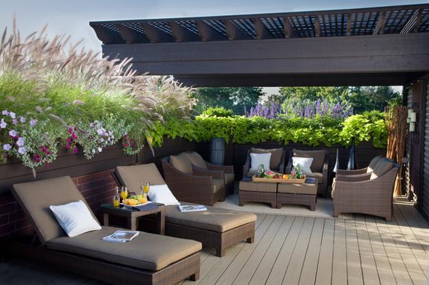 Πράσινες Ιδέες σχεδιασμού κήπου και αυλής11