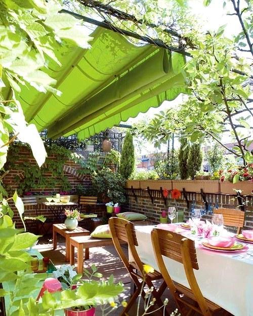 Πράσινες Ιδέες σχεδιασμού κήπου και αυλής27