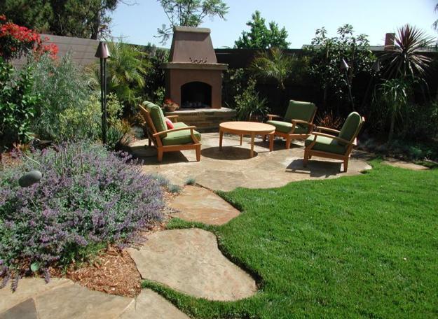 Πράσινες Ιδέες σχεδιασμού κήπου και αυλής4