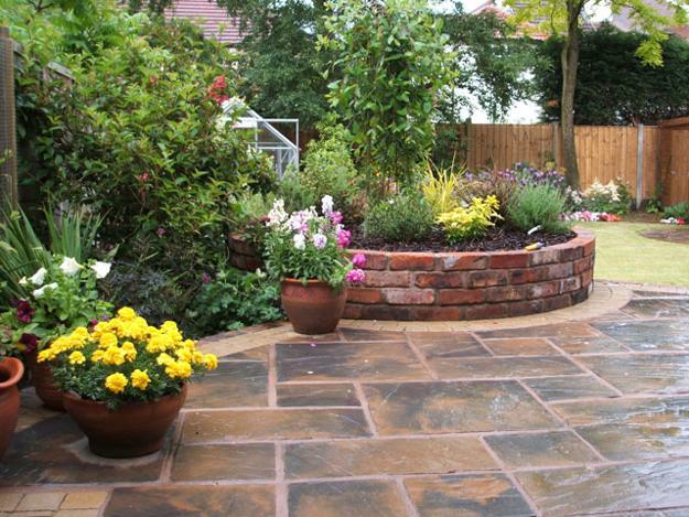 Πράσινες Ιδέες σχεδιασμού κήπου και αυλής6