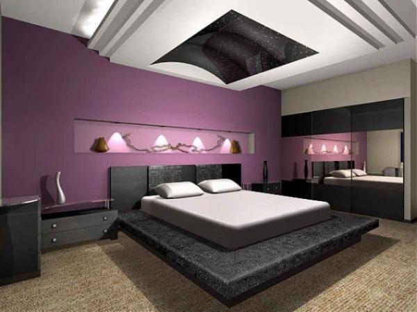 Τέλεια μωβ υπνοδωμάτια1