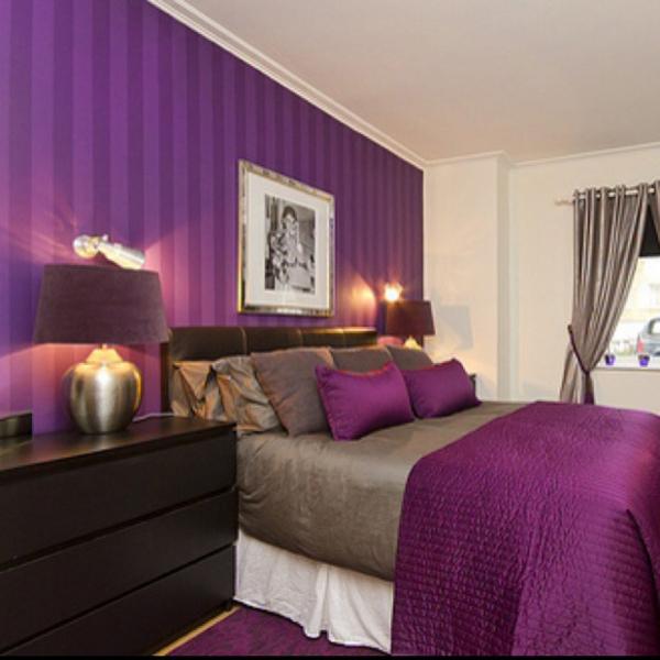Τέλεια μωβ υπνοδωμάτια11